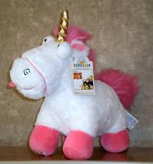 Image Is Loading Build A Bear Fluffy Papoy Unicorn Despicable Me