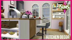 the sims 3 the baseline kitchen decor youtube
