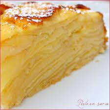 dessert aux pommes sans gluten gateau invisible aux pommes sans gluten secrets culinaires