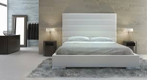 King Platform Bed With Leather Headboard by Modloft Prince King Bed Md319 K Official Store