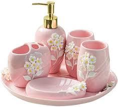 bad accessoires set rosa