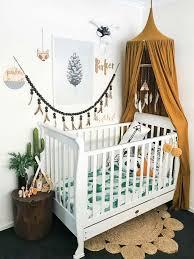 ambiance chambre bébé fille déco chambre bébé fille et garçon en style scandinave pour un