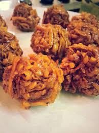 Caramel Coconut Balls West African