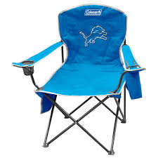 100 Folding Chair With Carrying Case UPC 715099277096 Coleman NFL Detroit Lions Cooler
