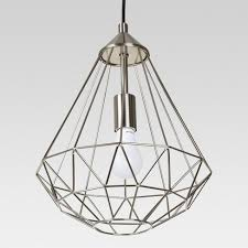 Entenza Faceted Geometric Pendant Ceiling Light Project 62™ Tar