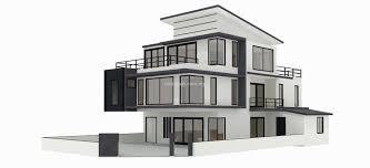 100 Bungalow Design Malaysia 3D Model Stage 2 3D Model Draft And Build