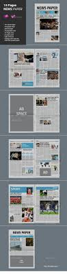 Free Indesign Newspaper Template