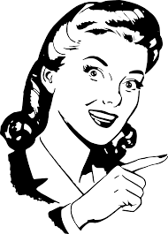 Pointing finger clipart finger pointing lady