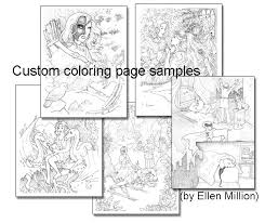 450 Deluxe Custom Package Youll Receive A 1 Year Print Subscription And Digital Plus Coloring Page Drawn By Ellen