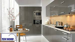 schöne küche 4 2m einbauküche mit hochschränken modern