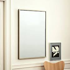 wall mirrors edge wood framed wall mirrors light oak