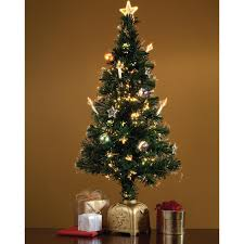 Fiber Optic Spinning Musical Christmas Tree