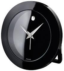 amazon com movado travel alarm clock home kitchen