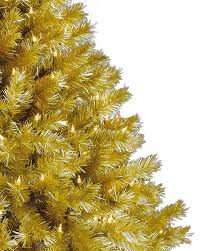 Pre Lit Christmas Trees On Sale by Toasted Champagne Gold Tinsel Artificial Christmas Tree Treetopia