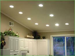 lighting replacing kitchen flood lights with led led kitchen
