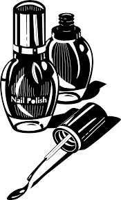 Illustration of nail polish bottles Free Stock