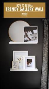 Meijer Home Wall Decor by How To Build A Trendy Gallery Wall With An Eclectic Layout In Any