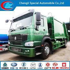 100 Trash Trucks Videos Sinotruk Howo Garbage Compactor Truck 10 Wheels Compressed Garbage