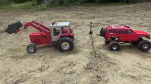 100 Rc Pulling Truck Tractor And Truck Pulling With Fails YouTube