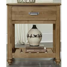vaughan bassett dresser drawer removal american maple maple 1 drawer nightstand bernie phyl s