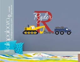 Construction Wall Decal - Nursery Wall Decal - Boys Room Wall Decal ... Designs Whole Wall Vinyl Decals Together With Room Classic Ford Pickup Truck Decal Sticker Reusable Cstruction Childrens Fabric Fathead Paw Patrol Chases Police 1800073 Garbage And Recycling Peel Stick Ecofrie Fire New John Deere Pink Giant Hires Amazoncom Cool Cars Trucks Road Straight Curved Dump Vehicles Walmartcom Monster Jam Tvs Toy Box Firefighter Grim Reaper Version 104 Car Window