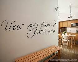 stickers phrase cuisine autocollant de cuisine photos de design d intérieur et