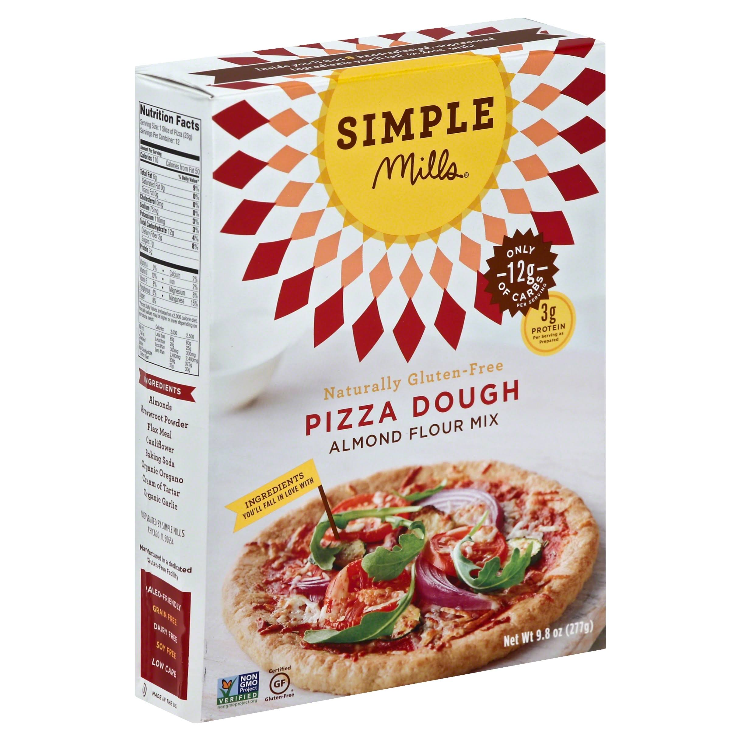 Naturally Gluten Free Almond Flour Mi - Pizza Dough, 9.8oz