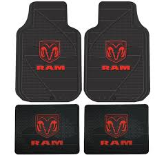 Sams Club Garage Floor Mats by Amazon Com Dodge Ram Head Logo 4 Pc Floor Mats Set Automotive