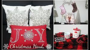 Tj Maxx Christmas Throw Pillows by Christmas Haul Tjmaxx Marshalls Target Ross Youtube