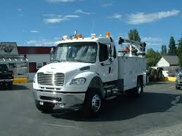 2014 Freightliner M2-132 Ext. Cab 4x4 - Rigged W/ Brutus Service ...