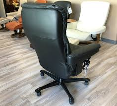 Ekornes Stressless Mayfair Office Chair Black Paloma Leather YouTube
