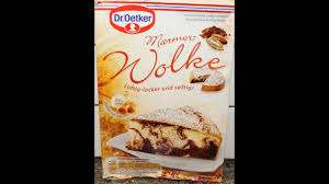 from germany dr oetker marmor wolke preparation review
