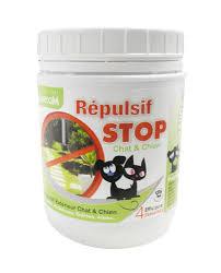 répulsif granulé stop chiens et chat pour extérieur pot de 400 gr