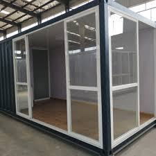 100 Container Home For Sale Prefabricated Glass Luxury 20ft Shipping Steel Framed One Bedroom One Kitchen One Wash Room Prefab Buy Luxury S