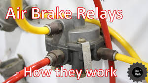 Air Brake Relay - How It Works. Air Braking Systems And Commercial ... Bendix Air System Diagram Data Wiring Taiwan Heavy Duty Truck Parts Industry Co Ltd Over Hydraulic Brakes 12 Historic Commercial Vehicle Club Railway Air Brake Wikipedia The Brake Cylinder Of A Large Lorry Stock Photo Picture Semi Compressor Best Resource Truck Disc Pads Replacing How To Replace On Tank Tanks For Trucks And Trailers Abs Cadillac Semi Specialist Parts Combined Abi Eboard Flyer