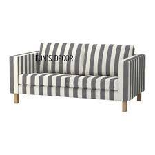 Karlstad Sofa Cover Isunda Gray by Karlstad Loveseat Slipcovers Ebay