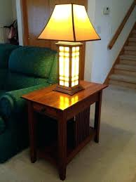 Vintage Floor Lamp With Attached Table by End Table With Lamp Attached Walmart Vintage Floor Magazine Photo