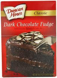 Amazon Duncan Hines Classic Cake Mix Dark Chocolate Fudge