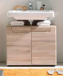 waschbeckenunterschrank eiche san remo bad unterschrank 65 cm badezimmer malea