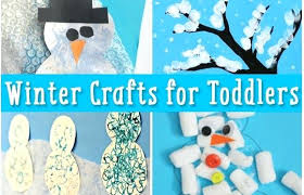 Simple Winter Crafts For Toddlers Easy And Fun Craft Animal Projects