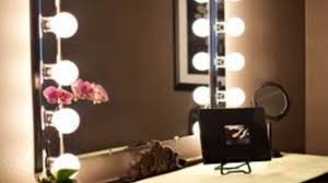 dressing table with lights around mirror dressing table with with