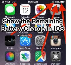How to Show Battery Percentage on iPhone to Indicate Remaining