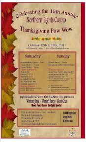 Northern Lights Casino Thanksgiving Powwow