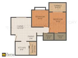 Designing A Floor Plan Colors 3d Floor Plans For House And Bedroom 3d Architectural Rendering