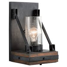 lights extraordinary indoor wall mounted lights wood and glass