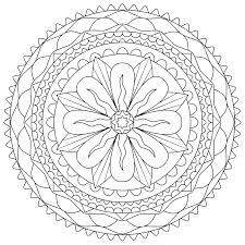 Free Abstract Coloring Pages For Kids