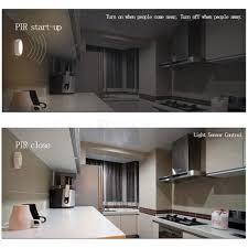 infrared motion detector led lights for wardrobe hallway 6 leds