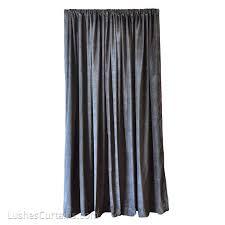 Noise Blocking Curtains South Africa by Black Custom Pro Studio Sound Proof Drape Velvet Curtain 18ft H