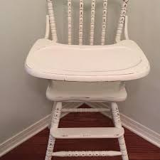 find more jenny lind wooden high chair painted and distressed