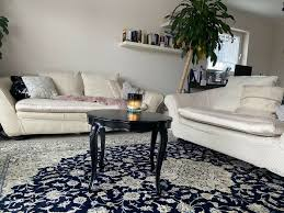 antike 3 und 2 sitzer beige versace stil sofa wohnzimmer